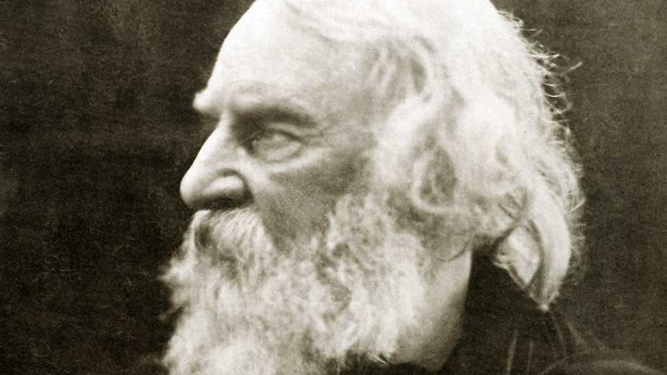 Henry Wadsworth Longfellow courtesy Wikimedia Commons
